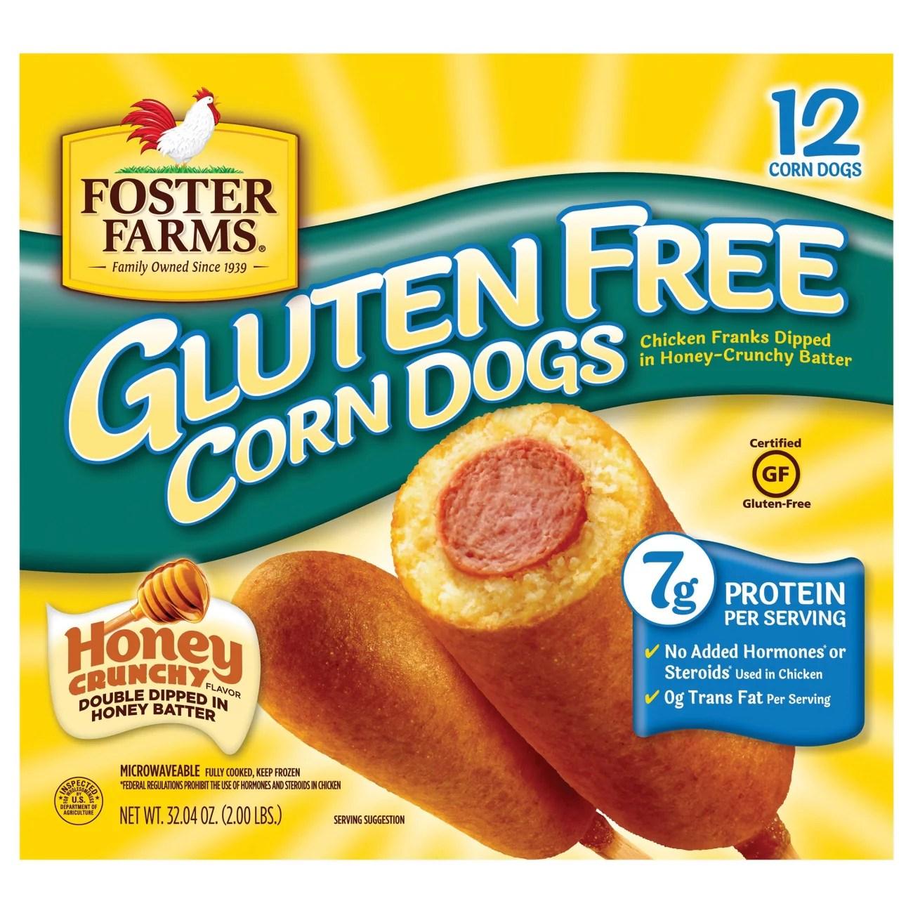 foster farms gluten free honey crunch corn dogs
