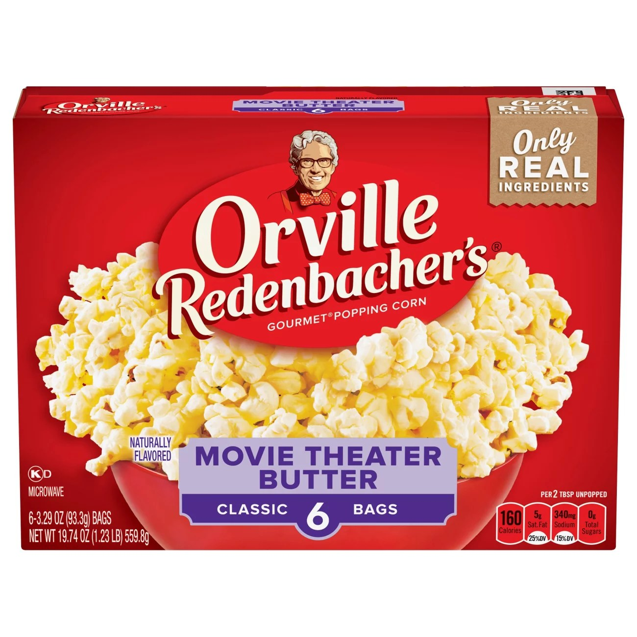 orville redenbacher s movie theater butter microwave popcorn