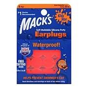 macks kidz size pillow soft earplugs shop ear plugs at h e b