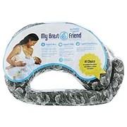 my brest friend breast feeding pillow gray white shop nursing pillows at h e b