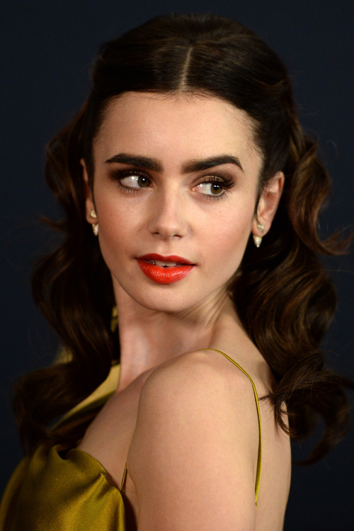 Lily Collins Is Belle From Beauty And The Beast In This