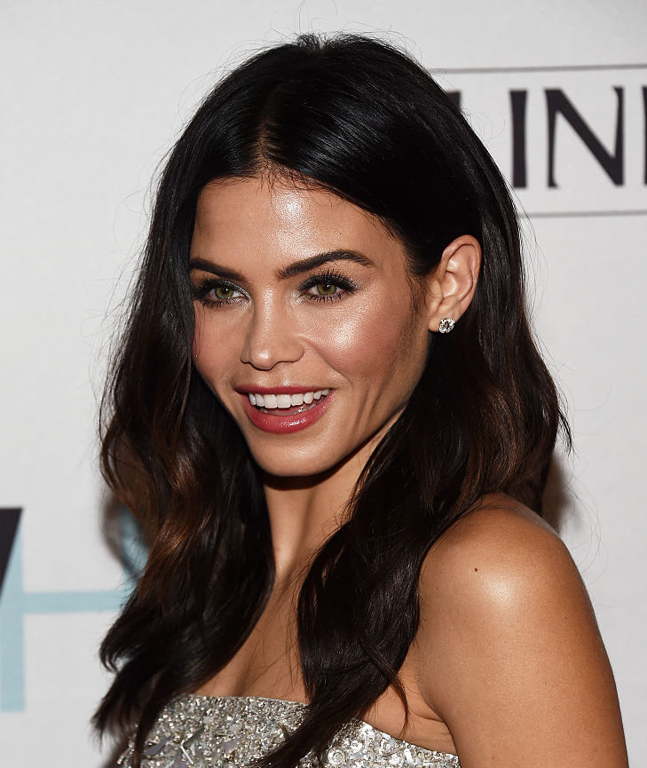 Jenna Dewan Tatum wore a sparkly dress that made her look like an actual ice princess