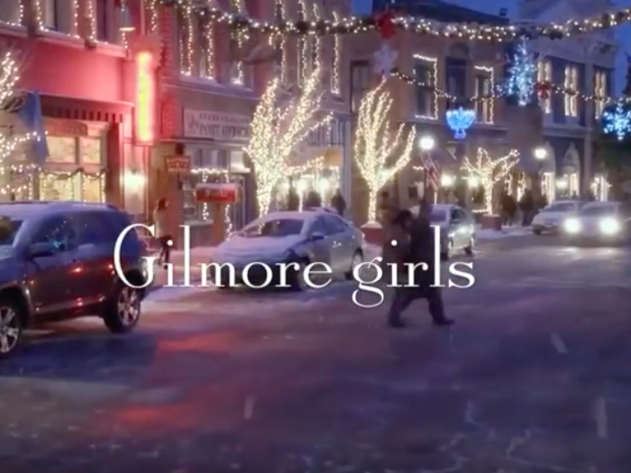 Image result for gilmore girls a year in the life opening credits