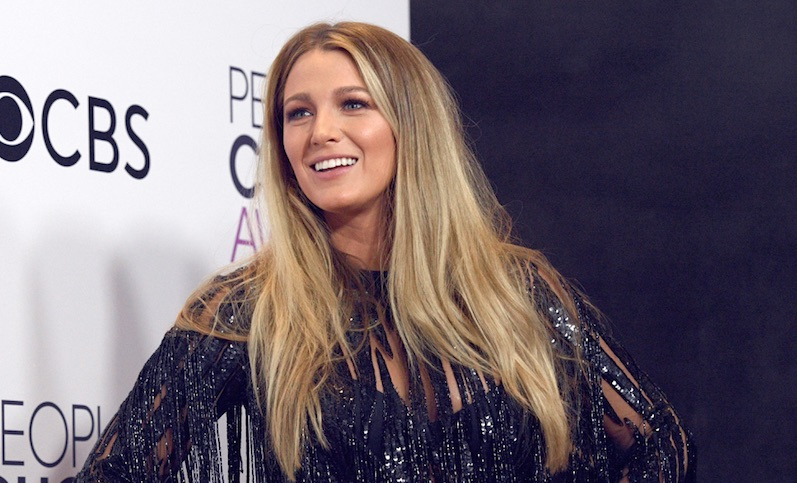 Blake Lively won Favorite Dramatic Movie Actress at The People's Choice Awards, and you go girl!