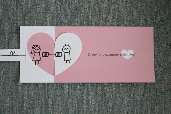 Valentines Day And Distance