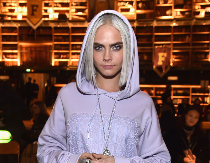 We love how Cara Delevingne made underwear a key part of her outfit