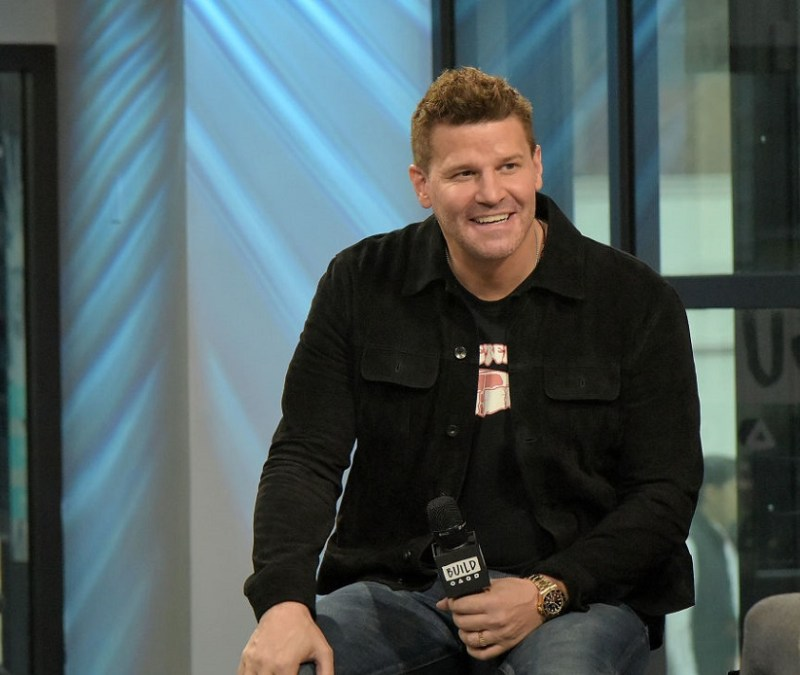 "According to his castmates, David Boreanaz loved stripping down on ""Buffy the Vampire Slayer"""