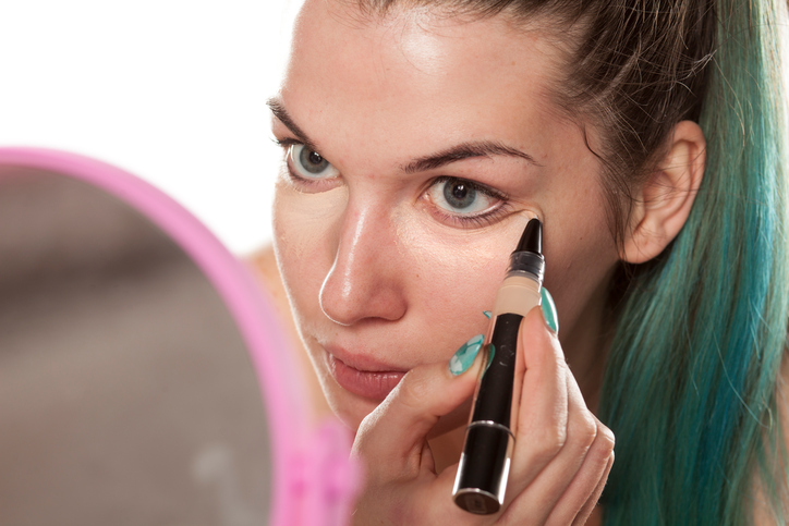 """Someone invented """"liquid Spanx"""" for your under-eye bags, and it may one day be in the beauty aisle"""