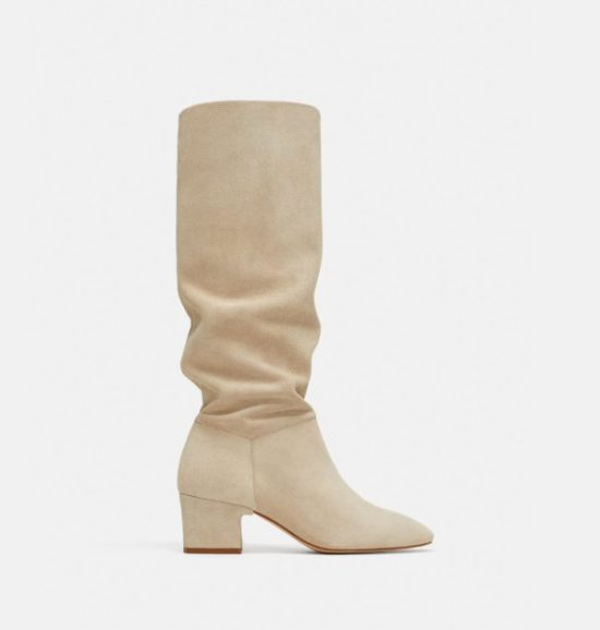 3838e561f56 Zara Tall Leather Boots