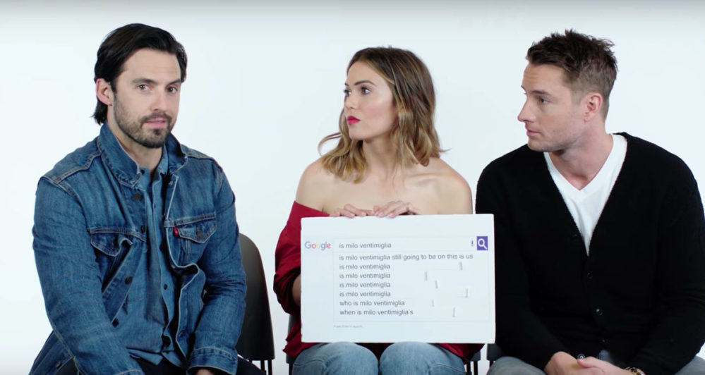 This Is Us  Star Milo Ventimiglia Throws Some Shade at  Heroes      This Is Us  Star Milo Ventimiglia Throws Some Shade at  Heroes     HelloGiggles