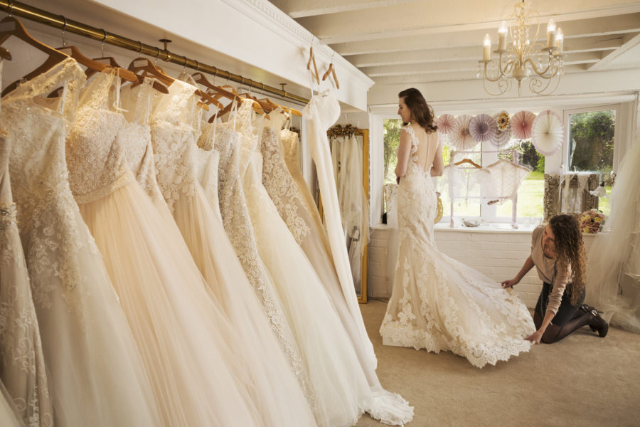 6 Common Wedding Dress Problems, Solved
