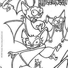 Black Bats Coloring Pages 14 Printables To Color Online For Halloween