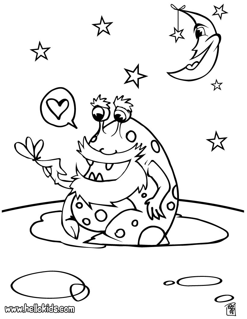 Space Coloring Pages Hellokids