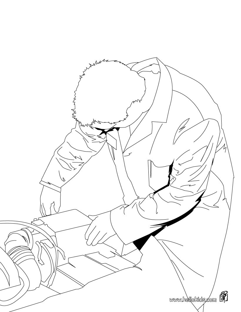 Mechanic Coloring Pages 6 Free Coloring Pages People And Their