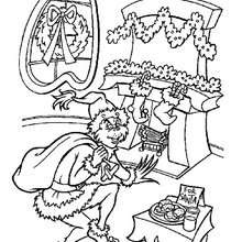 How The Grinch Stole Christmas Coloring Pages Free Printables To Color At Xmas