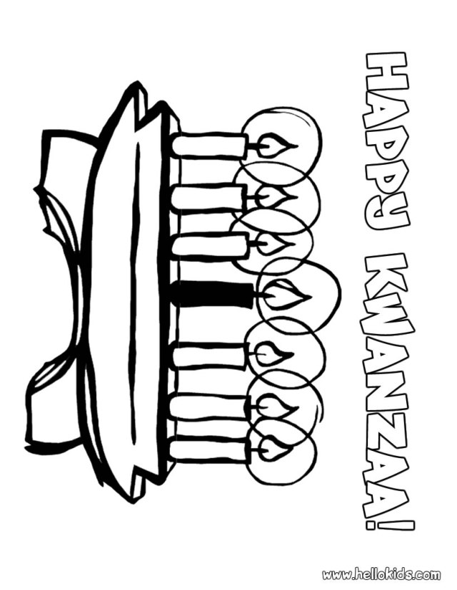 Kwanzaa coloring pages - Hellokids.com