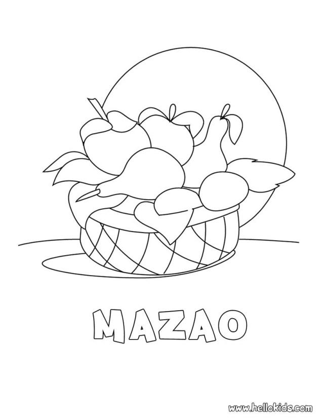 Mazao coloring pages - Hellokids.com
