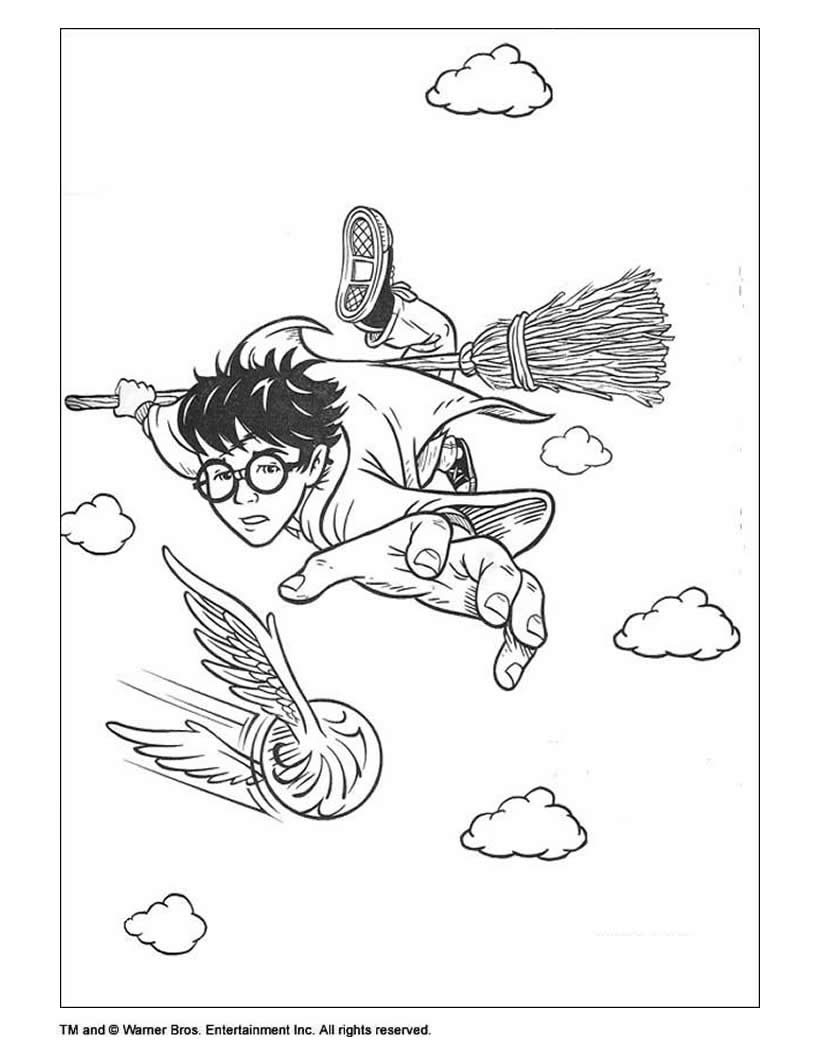 Harry Potter Coloring Pages 33 Harry Potter Online Coloring
