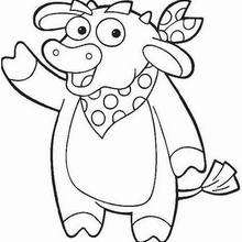 dora coloring pages printable # 52