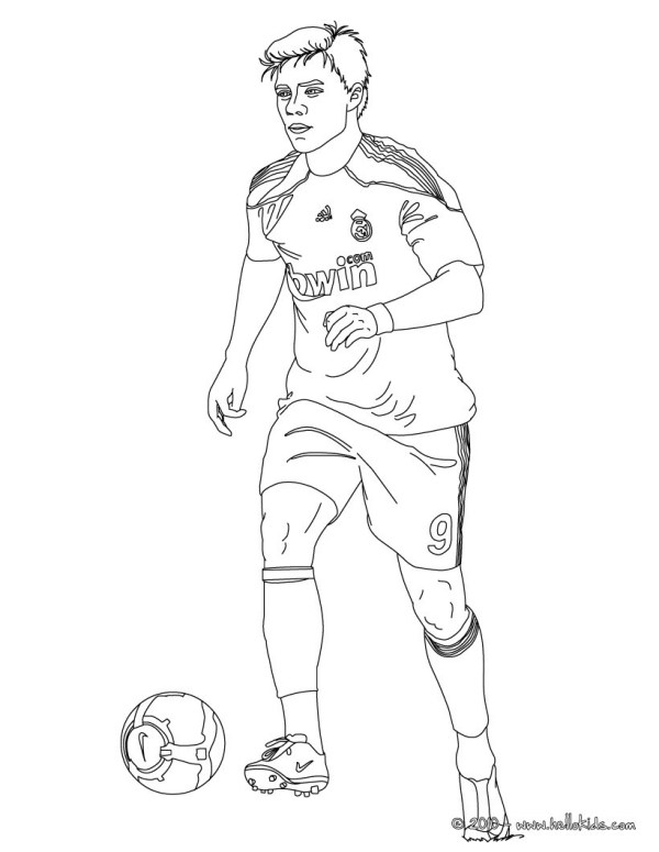 soccer coloring page # 48