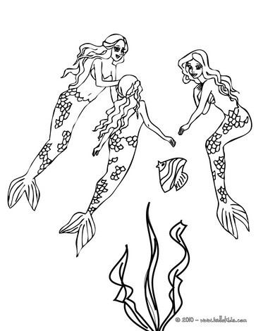 Mermaid Coloring Pages 43 Fantasy Mermaid World Coloring Book And Kids Favorite Mermaid Creatures Coloring Pages Famoust Mermaids And Free Fantasy Characters Of The Sea To Color In And Print Out