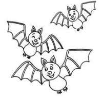 free printable halloween bat coloring pages