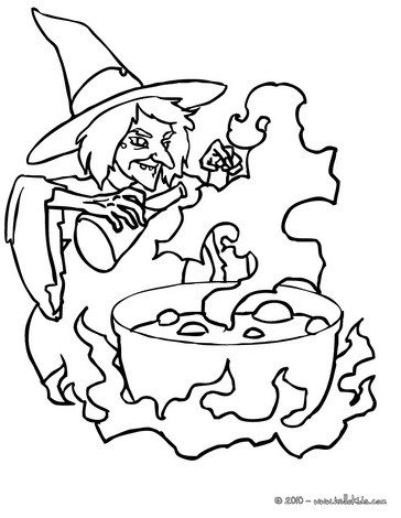 Witch Coloring Pages 67 Printables To Color Online For Halloween