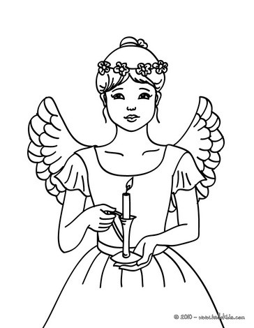 Christmas Angels Coloring Pages 17 Xmas Online Coloring Books And Printables