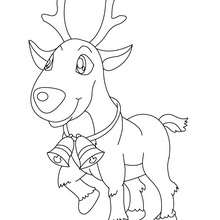 rudolph the red nosed reindeer coloring page # 16