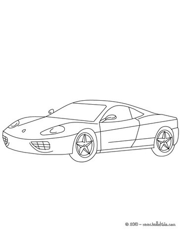 Sports Car Coloring Pages Coloring Pages Printable Coloring Pages Hellokids Com