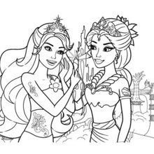 barbie coloring pages # 20