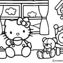 hello kitty coloring pages that you can print # 6