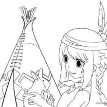 Indian Coloring Pages Coloring Pages Printable Coloring Pages Hellokids Com