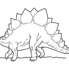 stegosaurus coloring page # 8