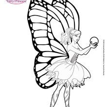 barbie coloring pages # 31