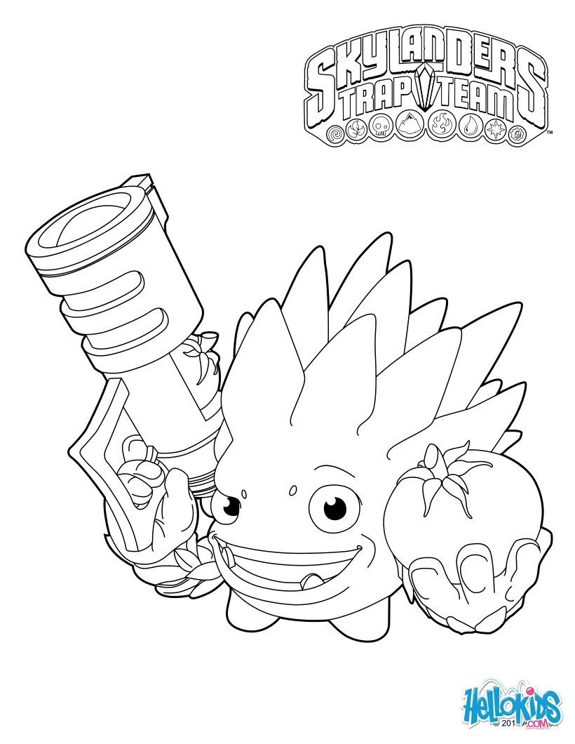 food fight coloring pages  hellokids
