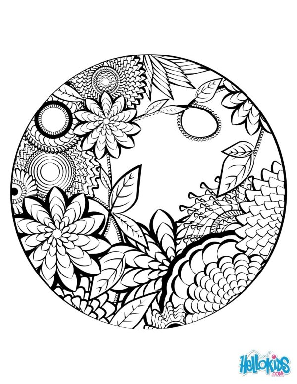 mandala coloring pages online # 1