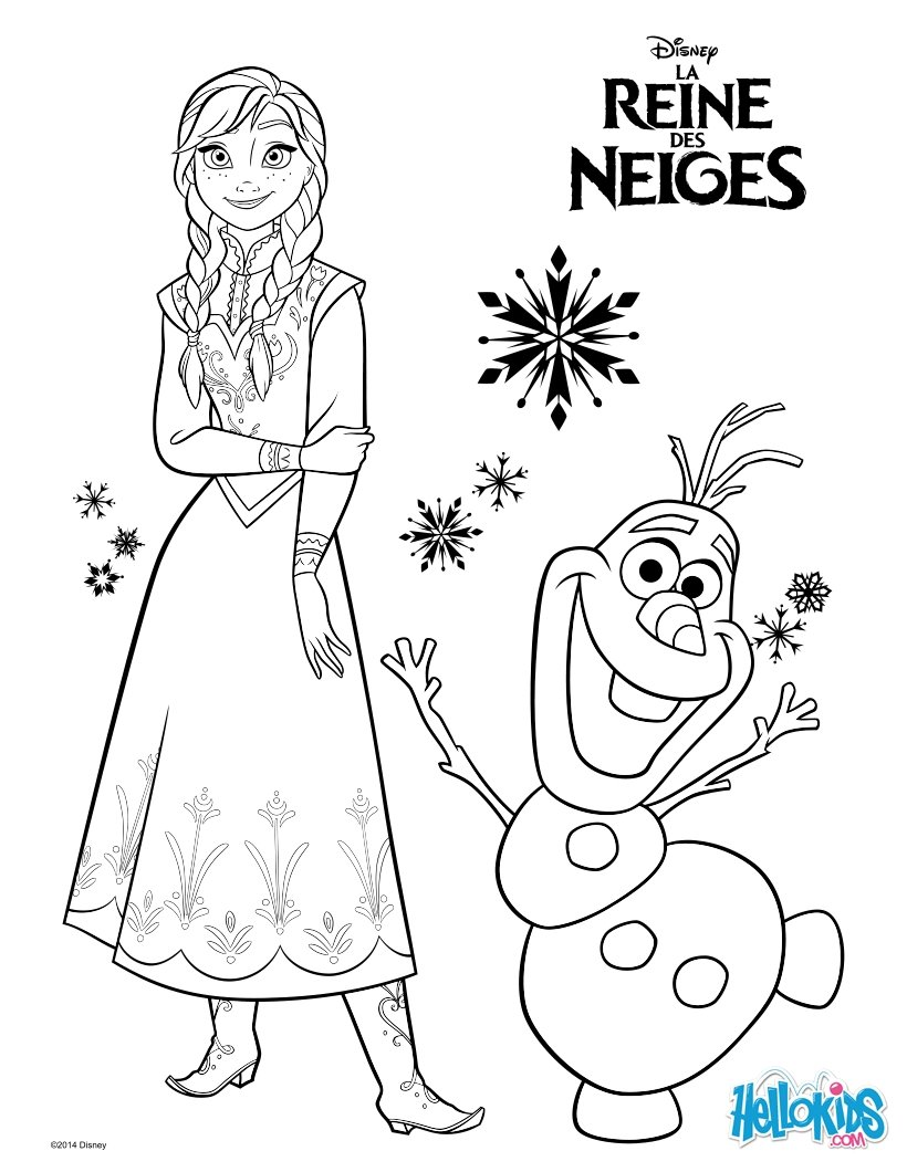 Frozen Coloring Pages 6 Free Disney Printables For Kids To Color