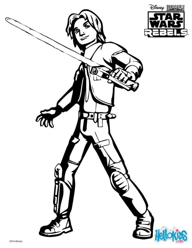Swr-ezra coloring pages - Hellokids.com