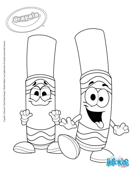 Crayola Coloring Pages App : Crayola com coloring page maker cartoon
