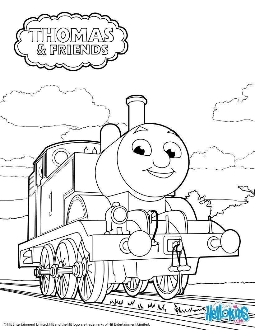 thomas and friends coloring pages free coloring pages download