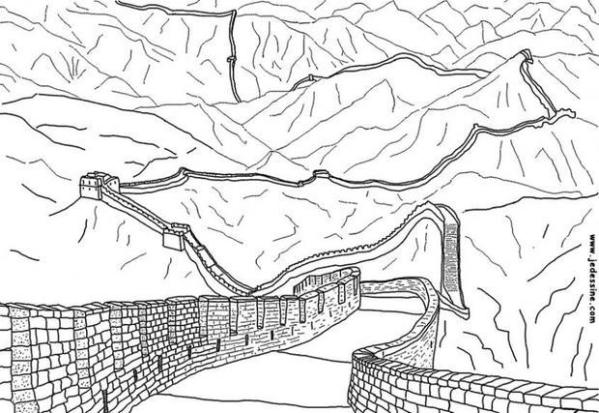 china coloring pages # 8