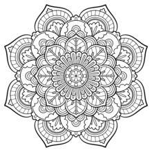 coloring pages mandalas # 5