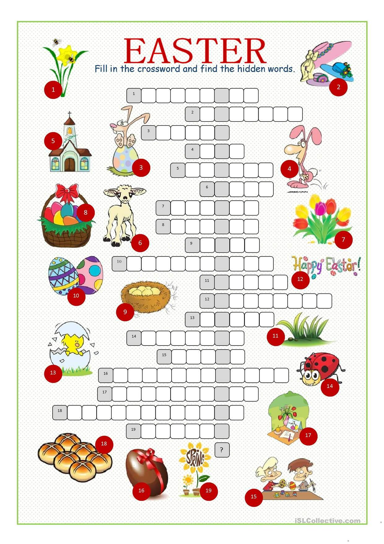 Easter Crossword Stories To Read