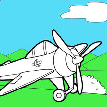 Plane Coloring Pages Coloring Pages Printable Coloring Pages Hellokids Com