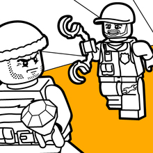legos coloring pages # 82