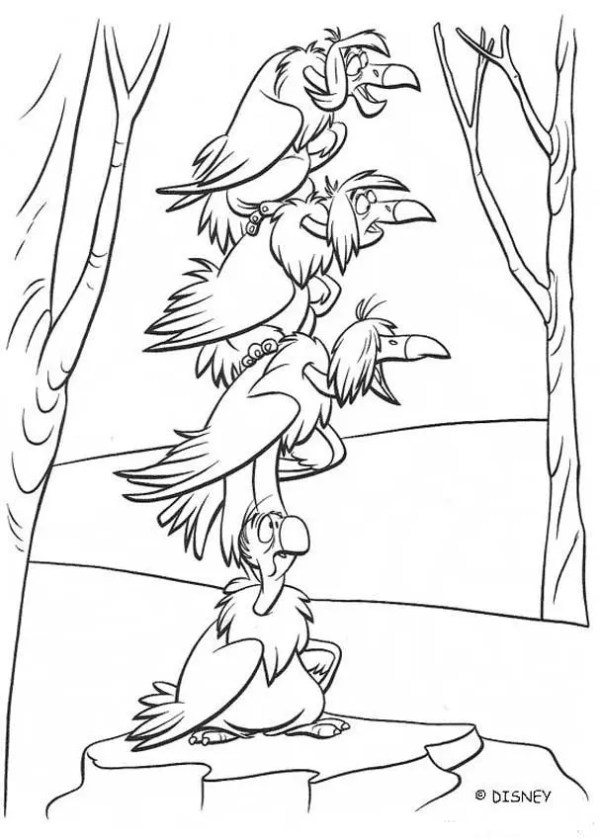 jungle coloring page # 79