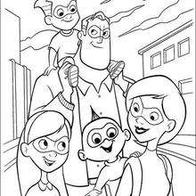The Incredibles 2 Coloring Pages Hellokids Com