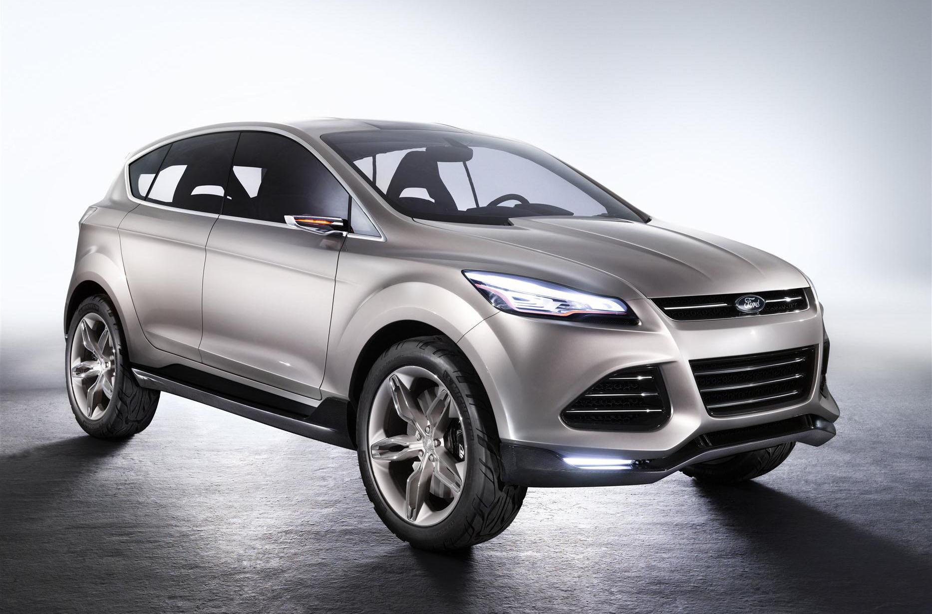 2013 Ford Escape Crossover Will Boost Gas Mileage Drop V 6
