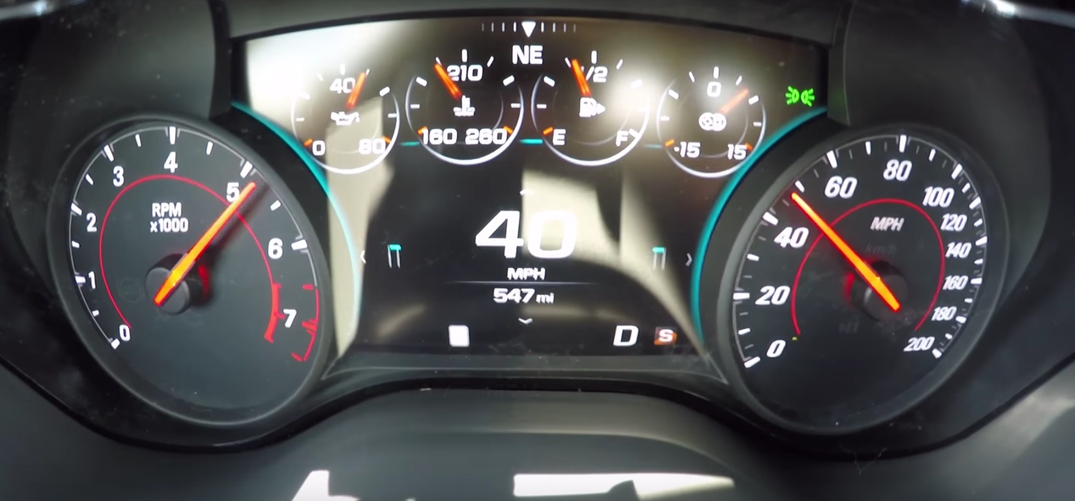 Chevrolet Authority 2017 Camaro Motor Zl1